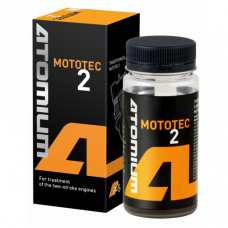 Additive to engine oil of motorbikes Atomium Mototec 2